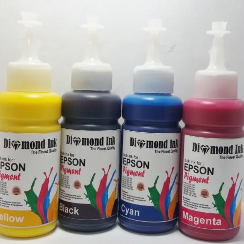 Foto Produk Tinta Pigment Epson Diamond Ink Best Photo Quality (1 Paket 4 Warna) dari Multi Solution