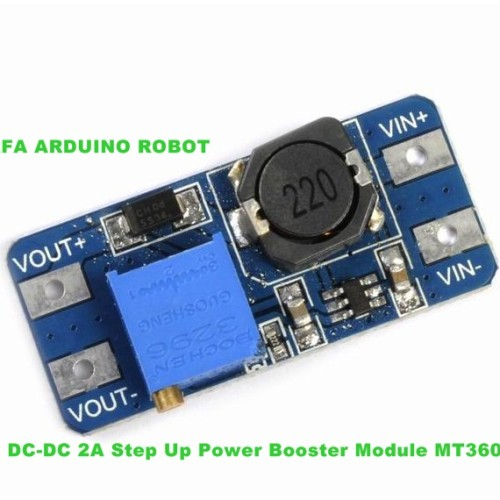 Foto Produk DC-DC 2A Step Up Power Booster Module MT3608 dari Arfa Arduino Robot