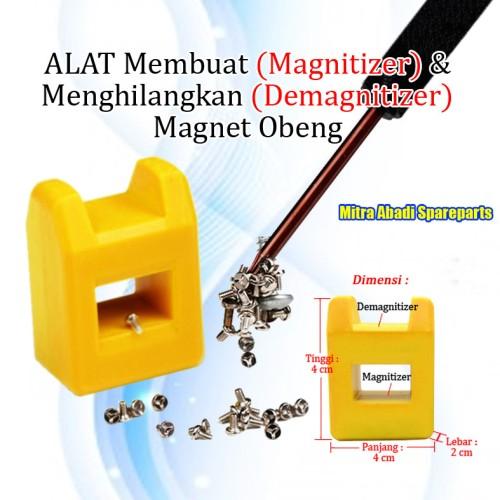 Foto Produk Magnetizer and Demagnetizer (Alat Pembuat dan Penghilang Magnet) Obeng dari Mitra Abadi Spareparts