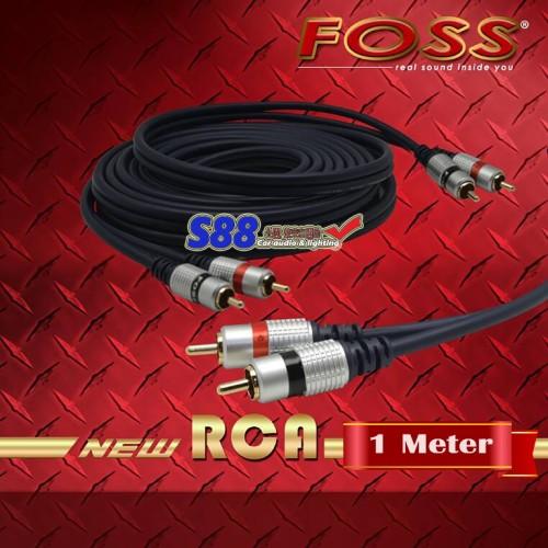 Foto Produk Foss RCA Blue Series 1 Meter dari Juro Audio