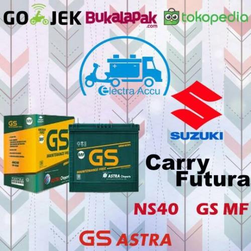 Jual Aki Mobil Suzuki Carry Futura Gs Astra Ns40 Aki Kering Jakarta Timur Electra Accu Tokopedia