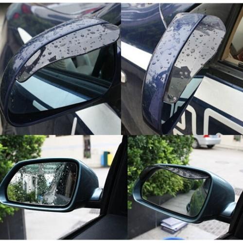 Foto Produk Penutup Kaca Spion Mika Car Cover Mirror Pelindung Hujan 1 set isi 2 dari anabelle