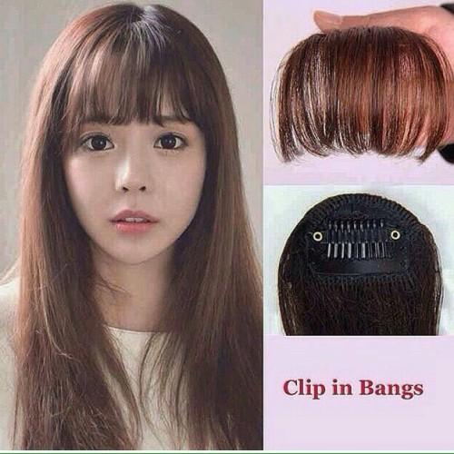 Foto Produk poni clip tipis korea murah - Hitam dari valensia hair jakarta