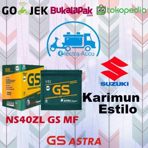 Jual Aki Mobil Suzuki Karimun Estilo Gs Astra Ns40zl Aki Kering Jakarta Timur Electra Accu Tokopedia