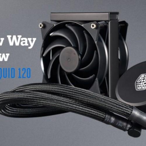 Foto Produk Cooler Master MasterLiquid 120 - CPU Liquid Cooler dari ELITUS GAMING