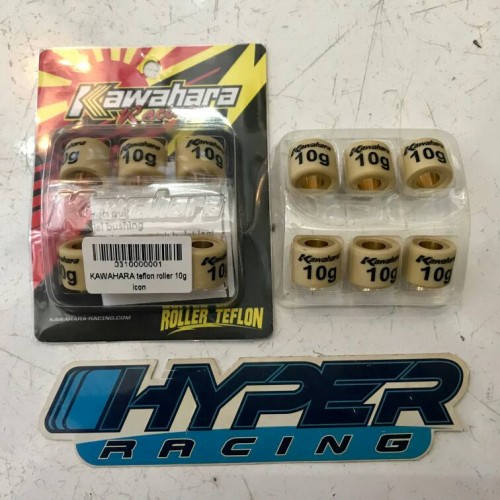 Foto Produk Roller Kawahara Racing 10G 10 Gram Beat Karburator Scoopy Karbu Spacy dari HYPER RACING
