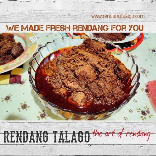 Foto Produk Rendang Talago Daging Sapi 1/2 Kg dari Rendang Talago