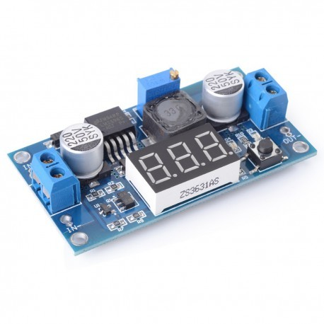 Foto Produk LM2596 DC - DC step down with Display dari Arfa Arduino Robot