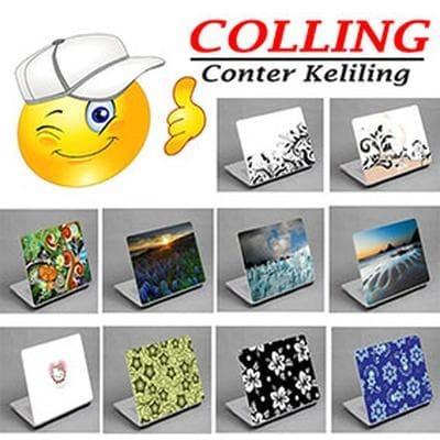Foto Produk Stiker Laptop Custome / Garskin Laptop / Sticker Laptop Design Sendiri dari Konter Keliling