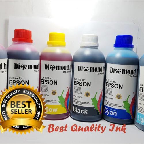 Foto Produk Tinta Epson Isi Ulang / Refill Diamond Ink 500ml Best Quality Ink dari Multi Solution