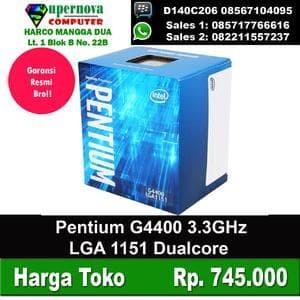 Foto Produk Processor Intel Pentium G4400 3.3GHz LGA 1151 dari Supernova Computer Ariet