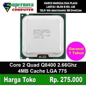 Foto Produk Processor Intel Core 2 Quad Q8400 2.66GHz 1 ulasan dari Supernova Computer Ariet