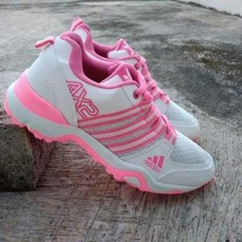 Foto Produk Sepatu Adidas AX2 Pendek Putih Pink dari Pusat Sepatu Baju Murah