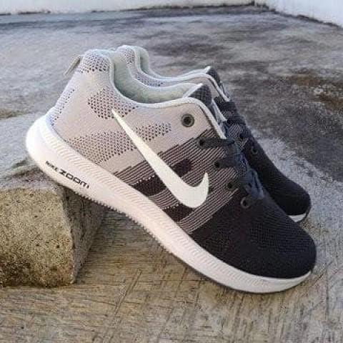 Foto Produk Sepatu Nike Zoom Import Abu Hitam Running dari Pusat Sepatu Baju Murah