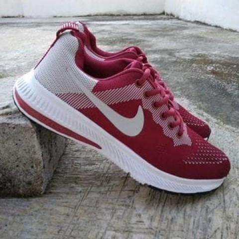 Foto Produk Sepatu Nike Zoom Import Maroon Abu Running dari Pusat Sepatu Baju Murah