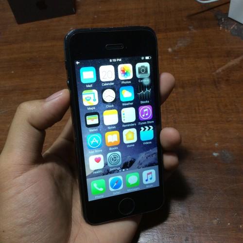 Foto Produk iPhone 5 64gb Black Hitam MURAH MERIAH dari Nca Jualan Woy