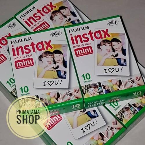 Foto Produk Fujifilm Refill Instax Mini Film Polaroid Polos (Single Pack) dari Primatama Shop
