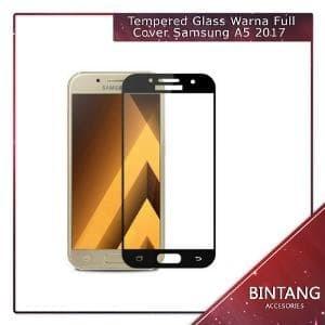 Foto Produk Murah Meriah Tempered Glass Warna Full Cover Samsung A5 Diskon dari Bintang.Acc