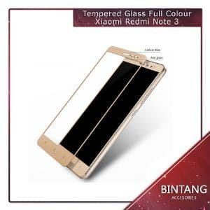 Foto Produk Murah Meriah Tempered Glass Warna Xiaomi Redmi Note 3 F Murah dari Bintang.Acc