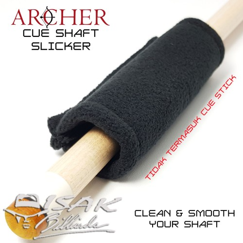 Foto Produk Cue Shaft Slicker - Kain Pembersih Stick Billiard Biliar Clean Cloth dari ISAK Billiard Sport Co.