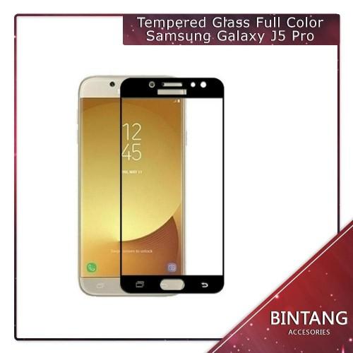 Foto Produk Murah Meriah Tempered Glass Full Color samsung J5 Pro J Limited dari Bintang.Acc