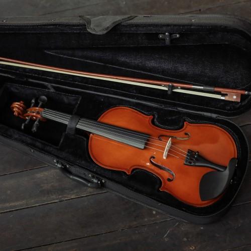 Foto Produk Biola akustik MAKOA Include hardcase bow rosin HIGH QUALITY - Maroon dari makoa.instruments