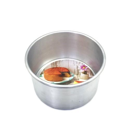Foto Produk Kiwi Loyang Bulat Pressed Diameter 16 cm Tinggi 9 cm Perak dari Surya Kitchen