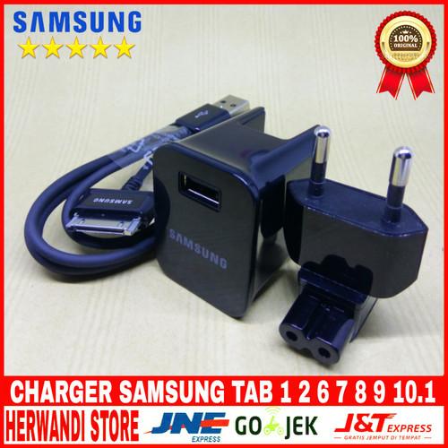 Foto Produk CHARGER SAMSUNG GALAXY TAB 1/2/7/8.9/10.1 NOTE 10.1 ORIGINAL 100% dari herwandi store