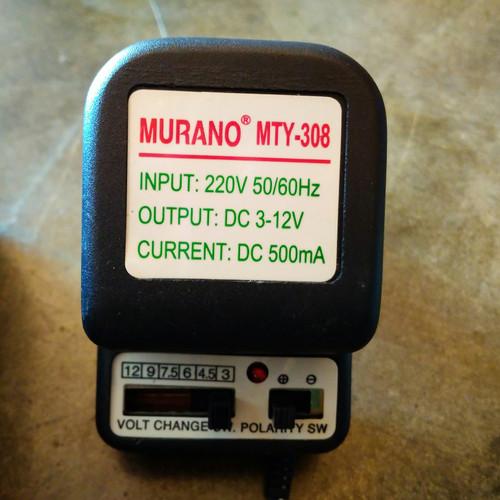 Foto Produk ADAPTOR UNIVERSAL ELEKTRONIK 500 mA SELECTED SWITCH MULTIFUNGSI dari marketzafr