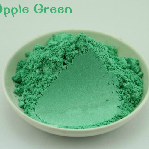 Natural Mica Powder 10g Pewarna Mika Bubuk Apple Green 1