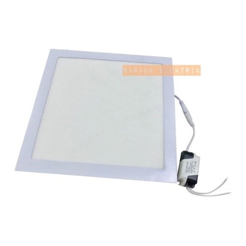 Foto Produk Led Downlight Panel 24W Kotak - Square Plafon - Kotak White dari GrosirAksesorisFashion