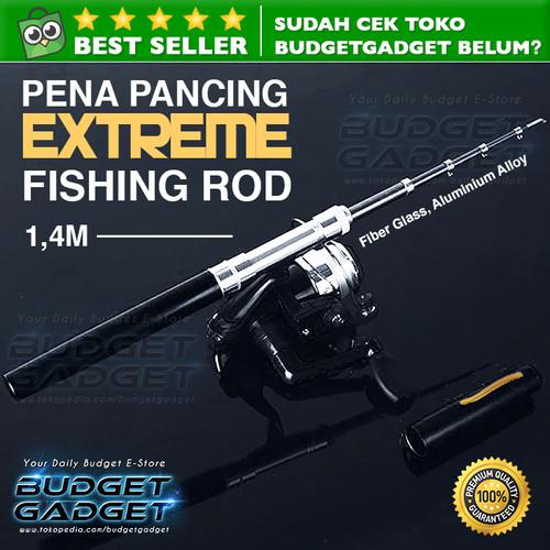 Foto Produk Pancingan Mini Portable Extreme Pen Fishing Rod Length 1.4M dari BudgetGadget