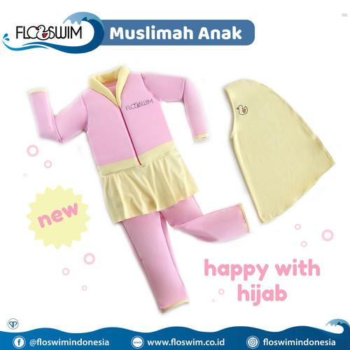 Foto Produk FloSwim Muslimah Anak L (5-7th) / GoSwim Cuddle Me Baju Renang Bisa M dari Enilate