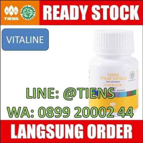 Foto Produk Vitaline Tiens, Obat Pemutih Wajah Alami, Vitamin Mata Minus & Katarak dari Afrizal Stores