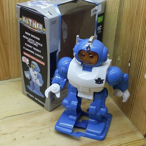 Foto Produk Mainan Robot Pintar Aether Light & Sound dari Suplier Mainan