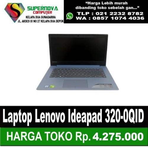 Foto Produk Laptop Lenovo Ideapad 320-0QID AMD A9-9420 RAM 4GB HDD 1TERA RESMI dari Supernova Computer Ariet
