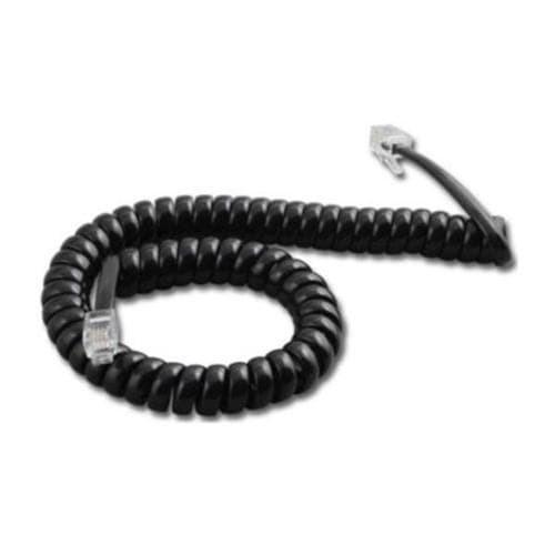Foto Produk Kabel telpon Spiral / Kabel Headset Telepon Black dari Jamur Store