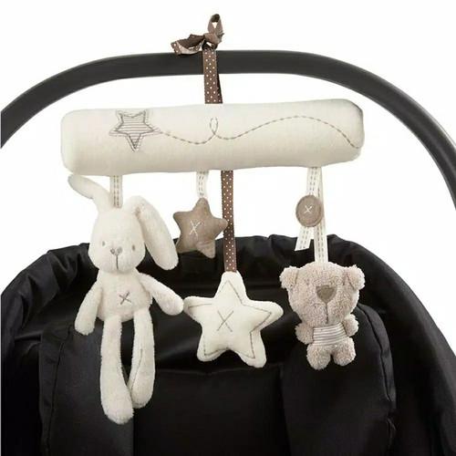 Foto Produk PROMO! Mainan Gantungan Boneka Stroller Baby Rattle Crib Mainan Bayi dari Milano Jaya Shop