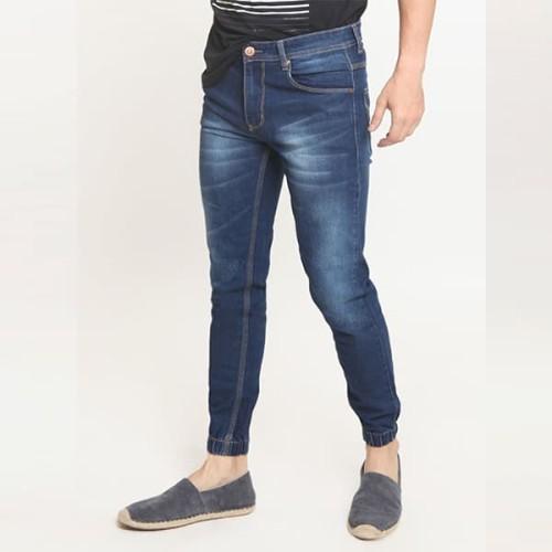 Foto Produk 2Nd RED Jogger Jeans Pria Biru Tua Bahan Elastis 112606 - Navy, 33 dari 2nd RED Jeans
