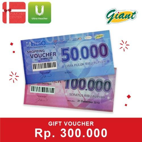 Foto Produk Voucher Giant Rp. 300,000 dari Ultra Voucher