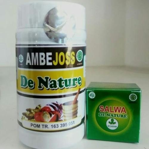 Foto Produk Obat Ambeien Ampuh AMBEJOSS dan salep SALWA de nature dari Herbal de Nature