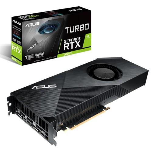 Foto Produk VGA ASUS Turbo GeForce® RTX 2080 Ti 11GB GDDR6 dari ELITUS GAMING