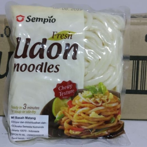 Foto Produk Sempio Fresh Udon Noodle / Mie Tebal / Mie Udon Instant 200 GR Korea dari foodsupply.co