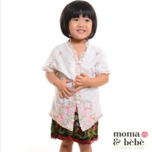 Foto Produk [Moma.Bebe.KebayaHouse] Atasan #S-XL Kebaya Encim Anak : corak Chrysan dari Moma & Bebe House