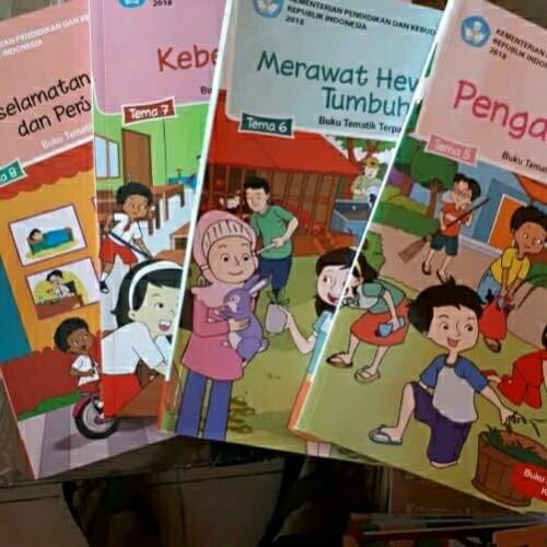 Foto Produk Buku Siswa Tematik Kelas 2 SD Tema 5678 Semester 2 Revisi Terbaru dari graha pustaka