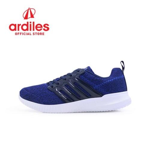 Foto Produk Ardiles Men Frodo Sepatu Running - Biru Navy - Biru, 43 dari Ardiles Official Store