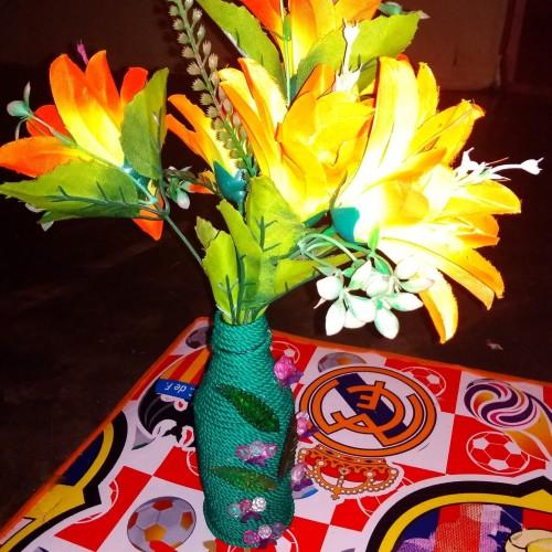 Foto Produk pot bunga hias vas bunga mungil untuk di dalam ruangan dari marketzafr