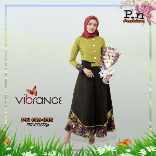 Foto Produk Gamis PN fashion GM 1135 - Hijau muda, XS dari assalam busana