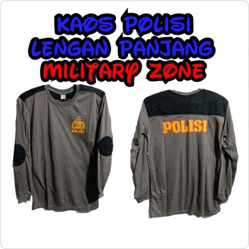Foto Produk PROMO BAJU KAOS POLISI LENGAN PANJANG PDL LAPANGAN TACTICAL MURAH dari Military zone