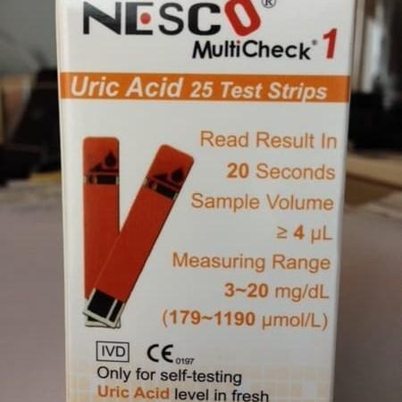 Foto Produk Strip Uric Acid / Asam Urat Nesco dari evasusanti store